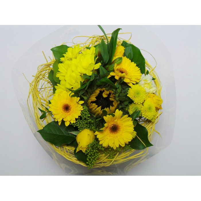 <h4>Bouquet Sisal Large Yellow</h4>