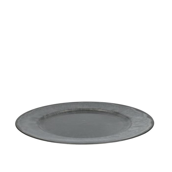 <h4>Plastic Melam plate round d33cm</h4>
