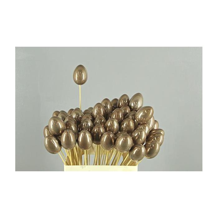 <h4>Stick Egg Pearl Brown 7cm</h4>