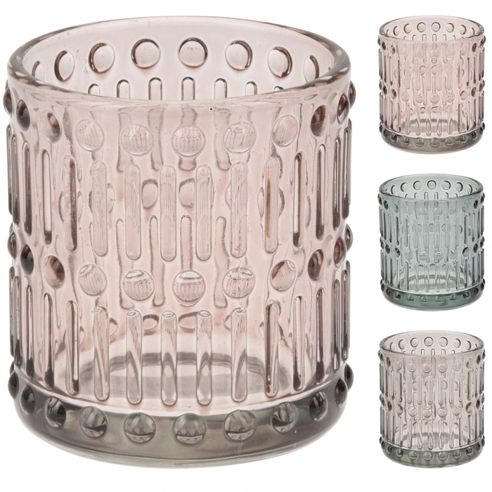 <h4>Candlelight Glass deco d7*8cm</h4>