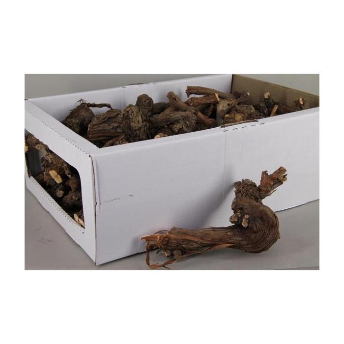 <h4>Grape Wood Box Natural 20-25cm</h4>
