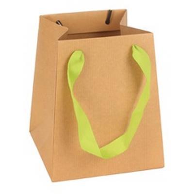 <h4>Bag Kraft carton 12/12x15/15xH18cm brown</h4>