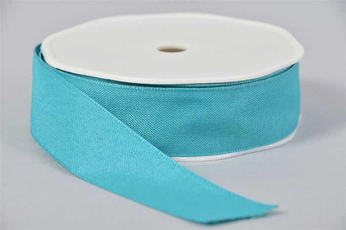 <h4>Lint Textiel 43 Turquoise 20mx25mm</h4>