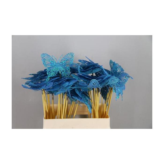 <h4>Stick Butterfly Open Gl. Bluew</h4>
