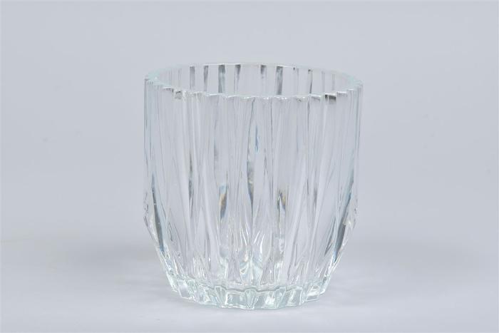 <h4>Glas Pot Geo 13x13cm</h4>