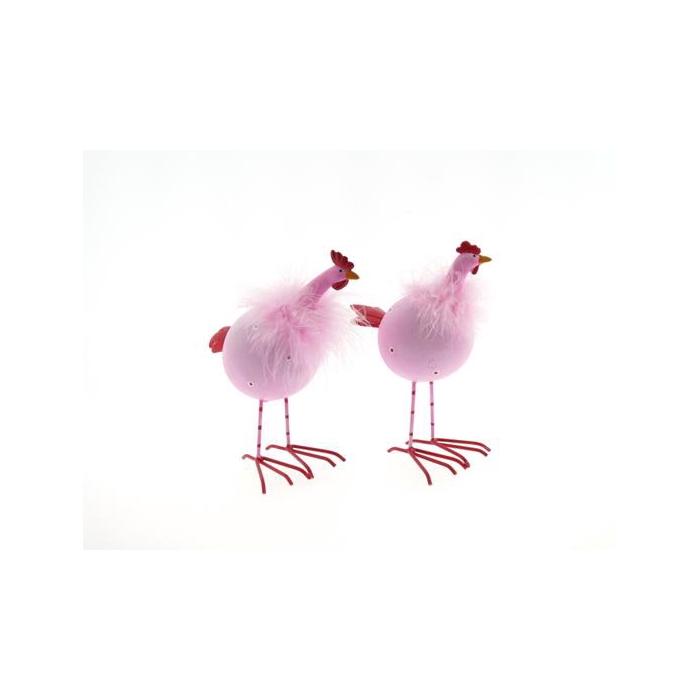 <h4>Fig. S. Chicken Pink 21cm Mix</h4>