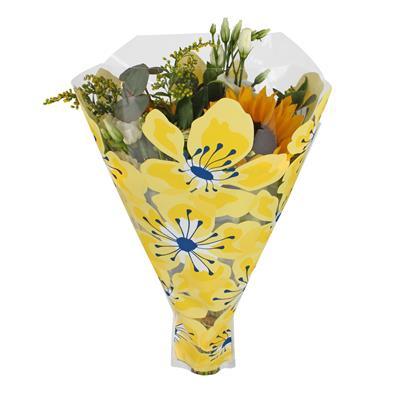 <h4>Housses 52x42x12cm OPP40 Floralia jaune</h4>