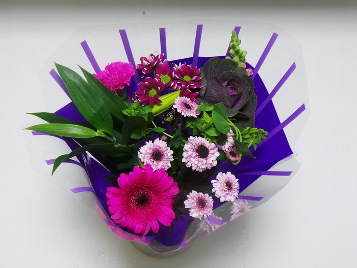 <h4>Bouquet 8 stems Lilac</h4>