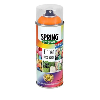<h4>Spray décoration printemps 400ml orange fluo 205</h4>