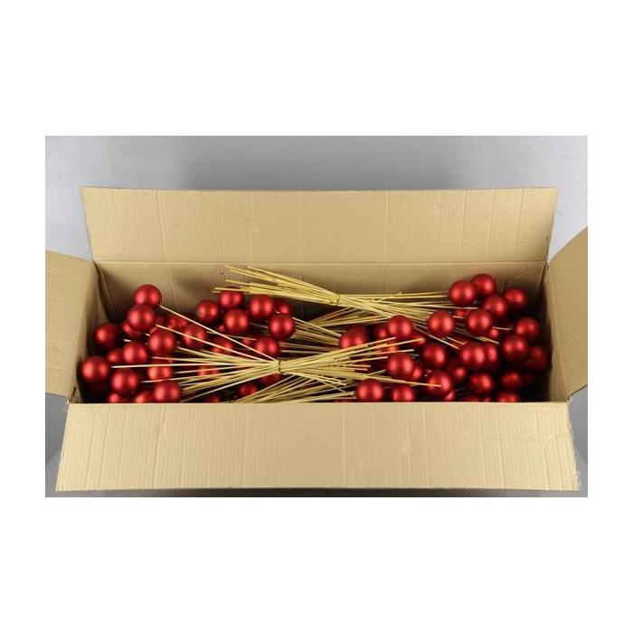 <h4>Stick Ball C. Ø6 Red Matt</h4>