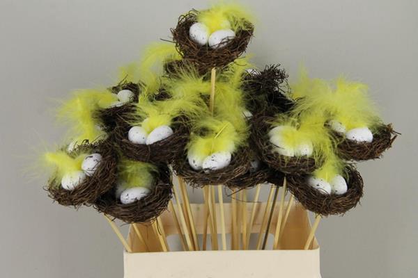 <h4>Stick Nest Salim + Eggs White</h4>