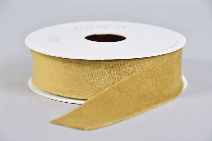 <h4>Lint Velvet 67 Goud Geel 5mx25mm P/1</h4>