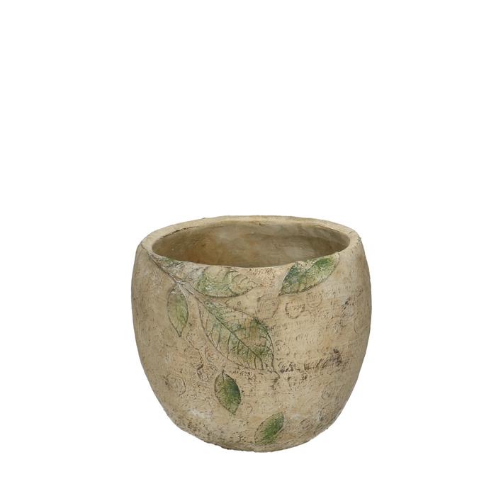 <h4>Ceramics Chestnut pot d19*17cm</h4>