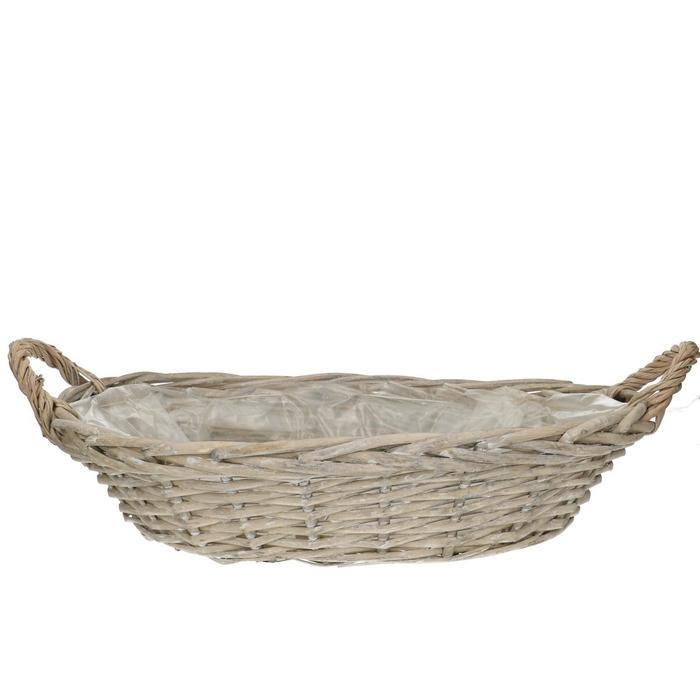 <h4>Baskets Olivia bowl+handle 55/38*10cm</h4>