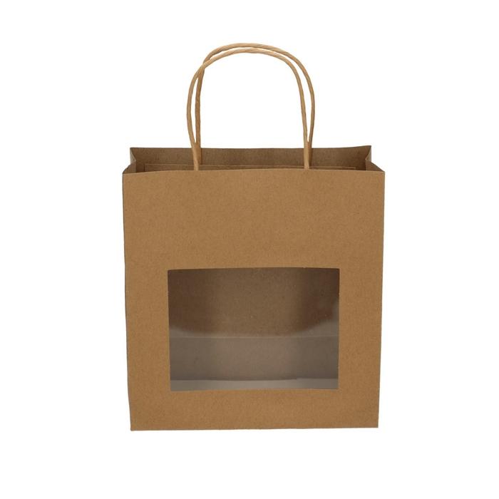 <h4>Tassen Gift bag venster  11/22*28cm</h4>