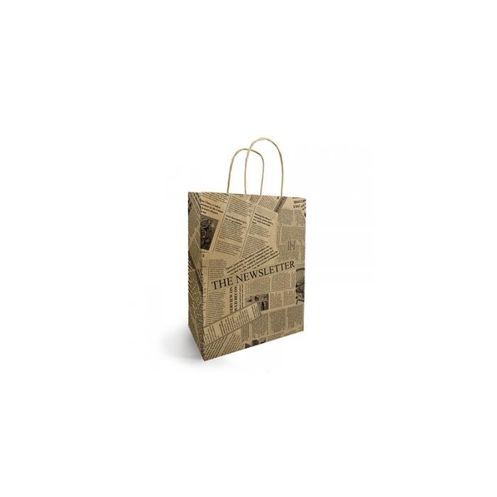 <h4>Bags Paper d25/12*31cm News</h4>