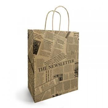 <h4>Tassen Papier d25/12*31cm News</h4>