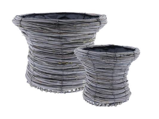 <h4>Basket Tingting S/2 Ø35x22cm</h4>