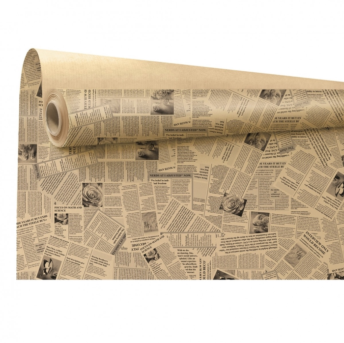 <h4>Papier Rol 80cm 40m News</h4>