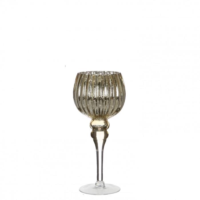 <h4>Glas Coupe vaas d13*30cm</h4>