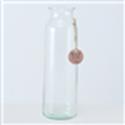 <h4>Vase Eco-Glas, H 30 cm, Klarglas, Transparent glass clear clear</h4>