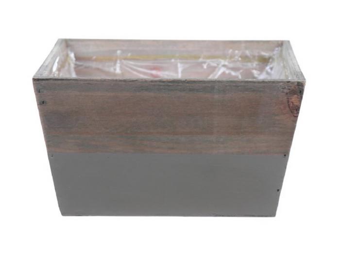 <h4>DF662680700 - Planter Argo3 18x18x10 l.grey/natural</h4>