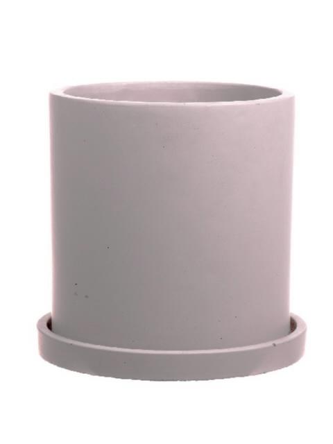 <h4>DF661980475 - Pot Bari d19xh19 beige</h4>