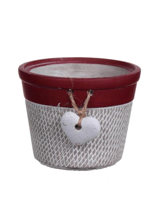 <h4>DF530260437 - Pot Verden d13xh10 red</h4>