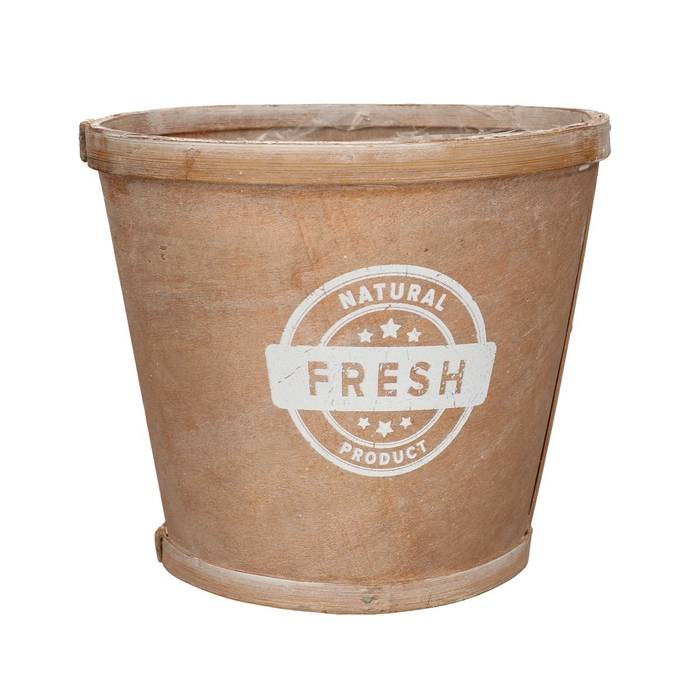 <h4>Hout Natural pot d17*15cm</h4>