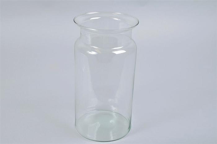 <h4>Glas Vaas Eco Fles 15x30cm</h4>