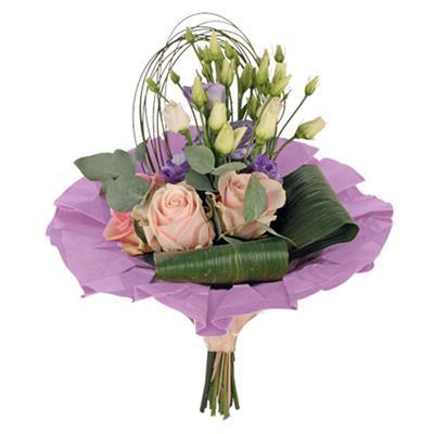 <h4>Bouquet cover kraft Ø36cm lila</h4>