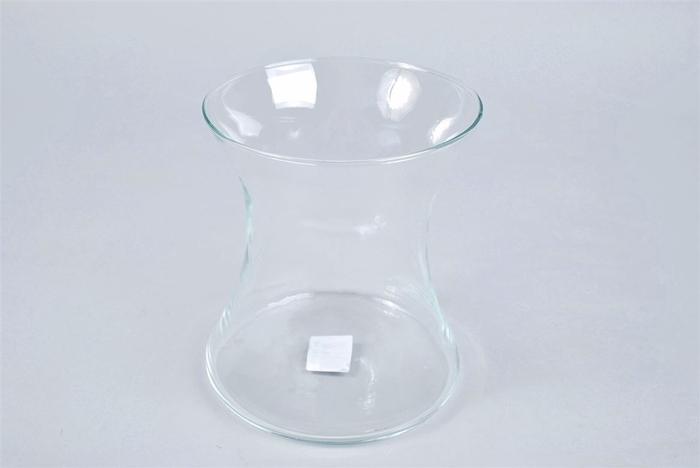 <h4>Glas Vaas Knik 15x17cm</h4>