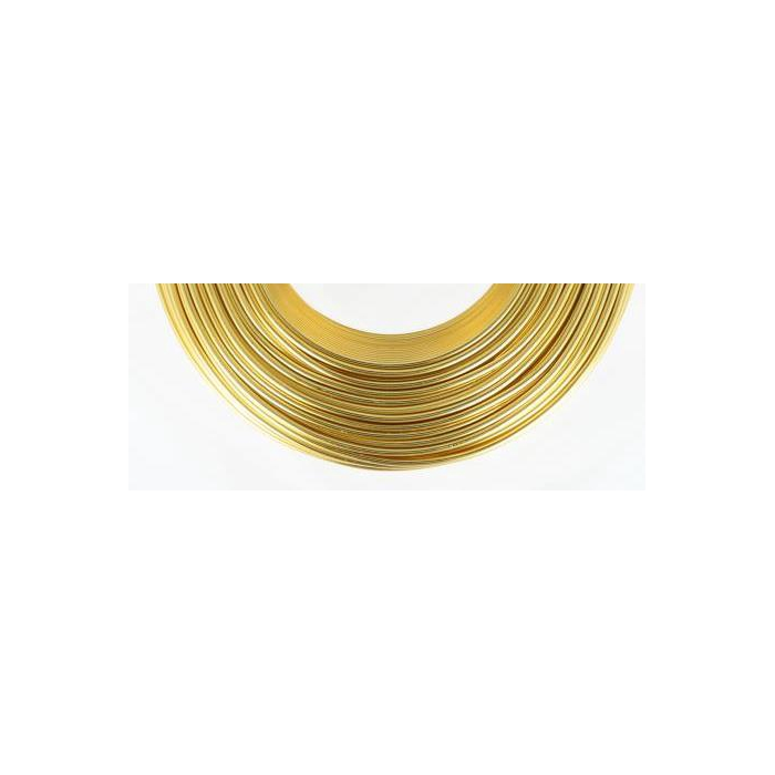 <h4>ALUMINIUM WIRE GOLD 2MM 60M 500GR</h4>