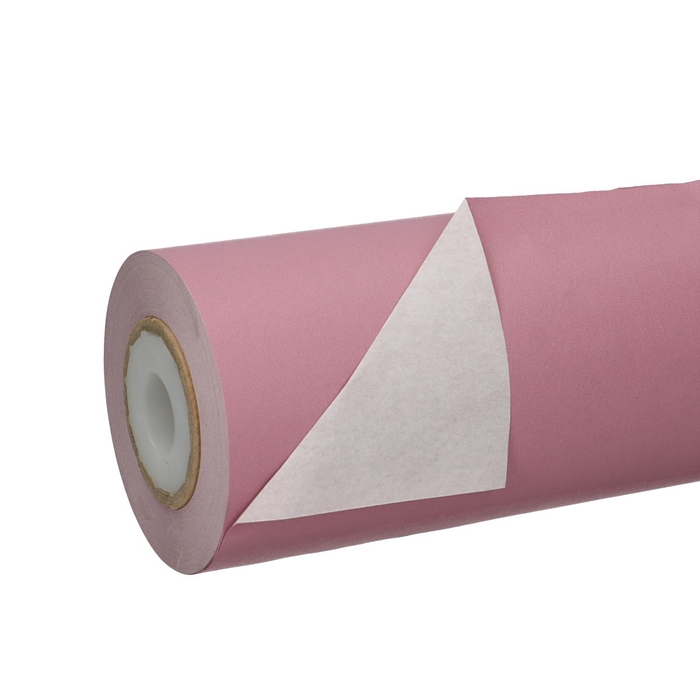 <h4>Papier Rol 25cm 50g 1.25kg Wit/Lila</h4>