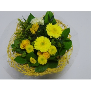 Bouquet Sisal Medium Yellow