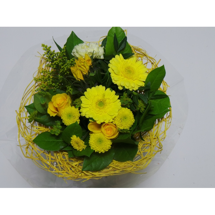 <h4>Bouquet Sisal Medium Yellow</h4>