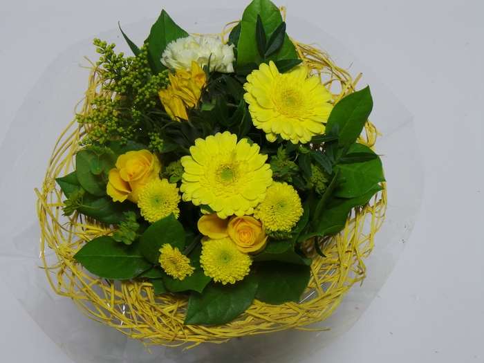 <h4>Bouquet Sisal Medium Yellow</h4>