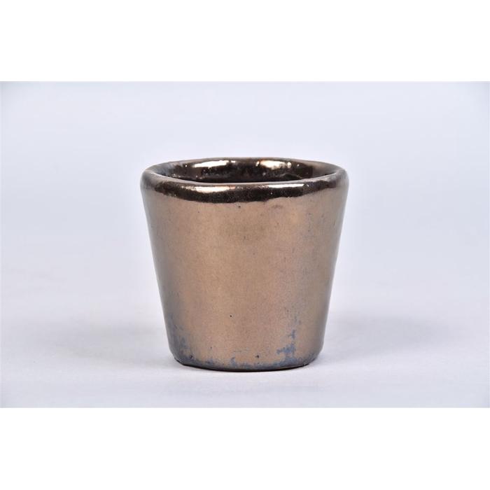 <h4>Alicante Brons Pot 9x8cm</h4>