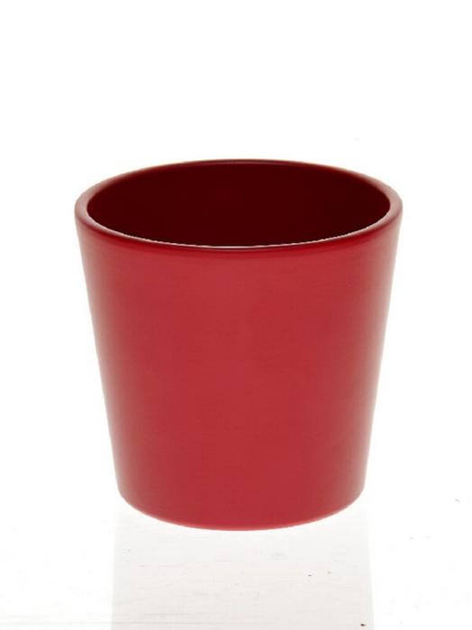 <h4>DF883639000 - Pot Dida d13.5xh12.5 red matt</h4>