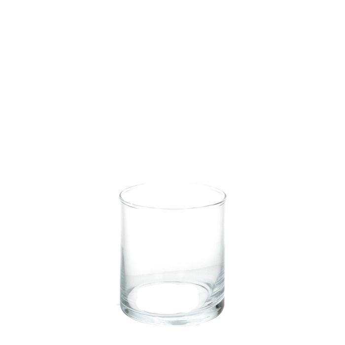 <h4>Glas Vaas d09*10cm</h4>