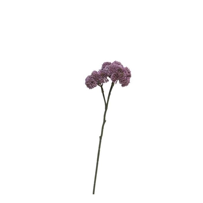 <h4>SILK FLOWERS - SEDUM FLOWER LILAC 46CM</h4>