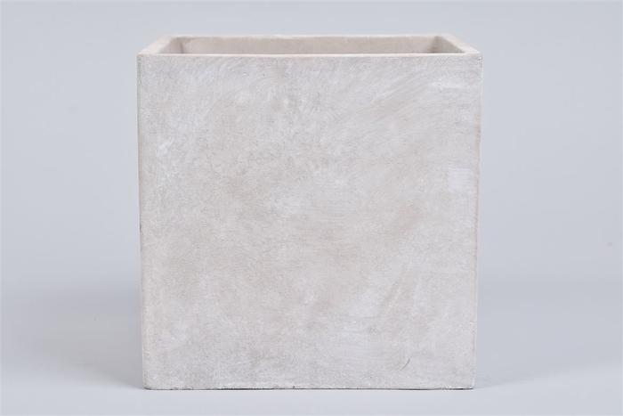 <h4>Beton Pot Vierkant 17x17x17cm</h4>