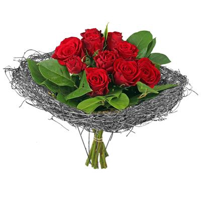 <h4>Bouquet holder Salim Ø15cm silver</h4>