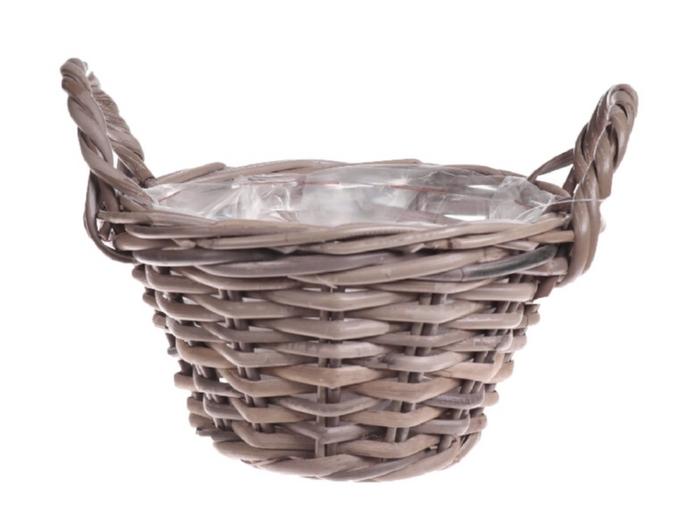 <h4>DF888005000 - Basket Pierron d19xh11 grey</h4>