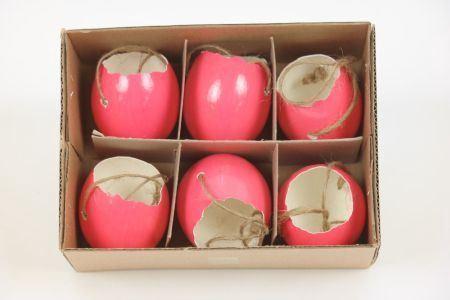 <h4>Hang. Egg Shell Shiny 6pc</h4>