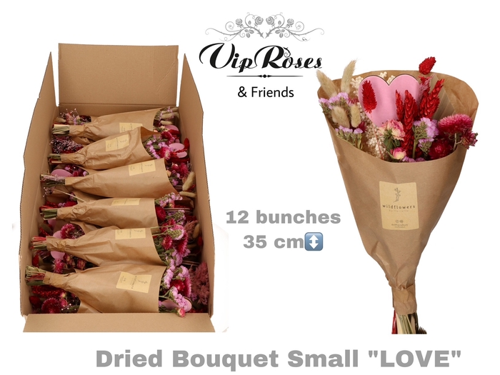 <h4>DRIED BOUQUET SMALL LOVE</h4>