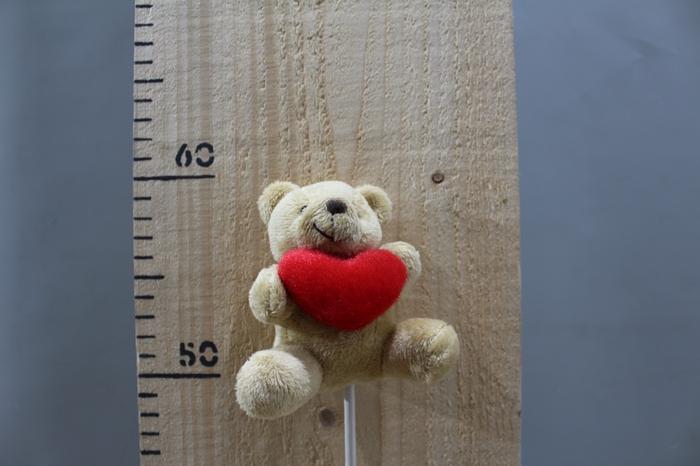 <h4>PLUSH BEAR WHIT HEART O/S H45 12PCS 260.5833</h4>