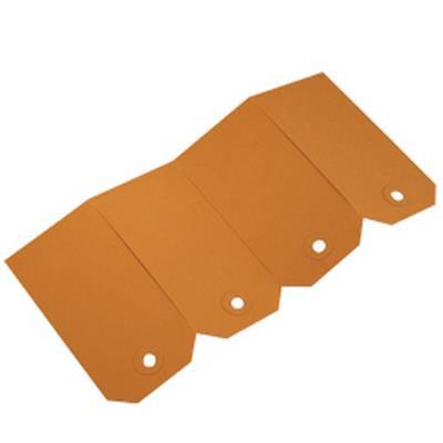 <h4>Etiquettes no. 0 25x50mm marron -boîte de 1000pcs</h4>