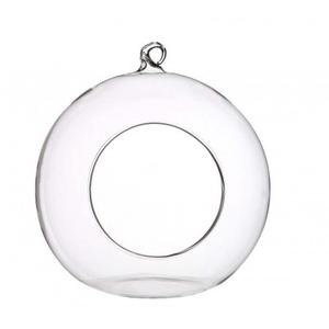 Glas Decobal gat d14*15cm