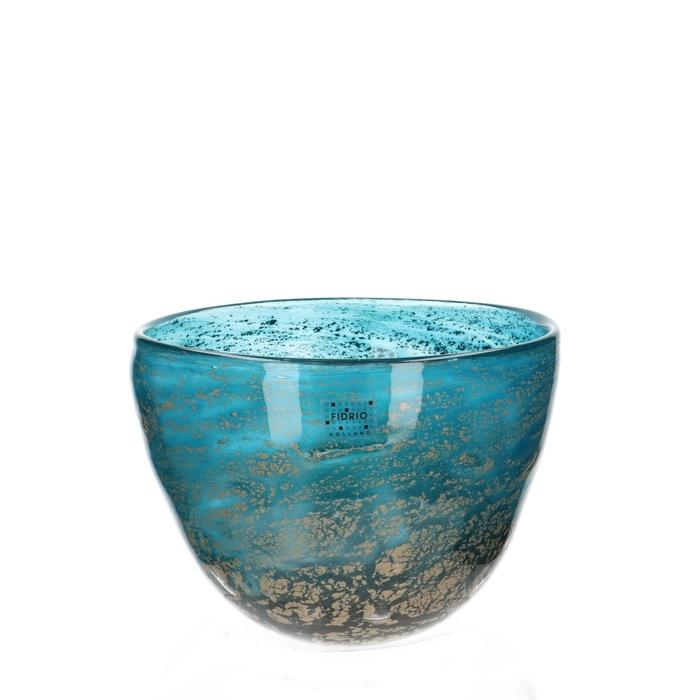 <h4>Glas Fidrio Fiji schaal d21*20cm</h4>